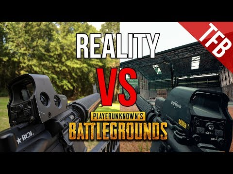 The Real Life Weapons Of PUBG (PlayerUnknown's: BattleGrounds)