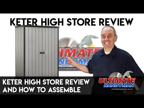 Keter High Store Review And How To Assemble