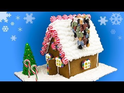 gingerbread - Learn how to make a homemade gingerbread house, step by step. Watch our other Christmas videos: http://www.youtube.com/playlist?list=PL7F9HNhSDxR1-r-uHKSdc0N...