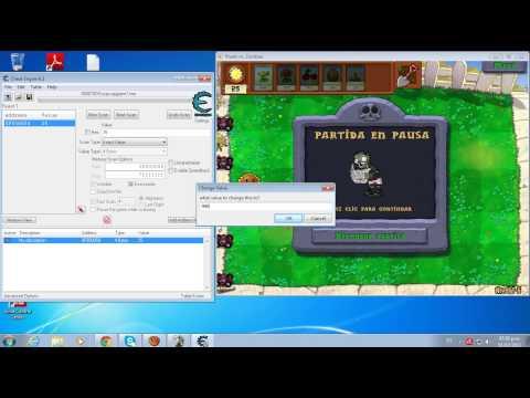 Como sacar soles y dinero infinito en Plantas Vs Zombies 1.0 para PC