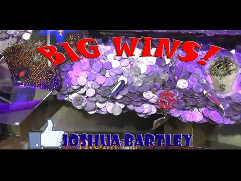 Coin Pusher Great Wins! Cash & Rare Coins | Big Announcement | Joshua Bartley