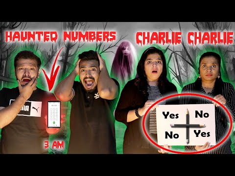 Haunted Challenge | Calling Haunted Numbers At 3 AM | Charlie Charlie