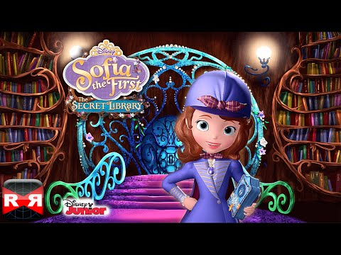 Sofia the First: The Secret Library (by Disney) - iOS / Android - Gameplay Video