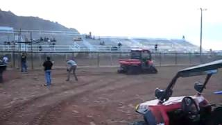 10. Tug of War, Tomcar with added weight vs  Kubota RTV Turbo