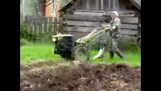 Копаем картошку (В стиле старого кино)