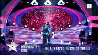 Norske Talenter 2012 - Mixmaster Cru Delfinale