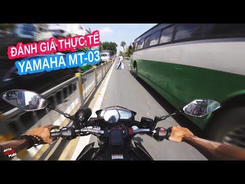 Yamaha MT-03 Đánh giá thực tế ưu nhược điểm | Anywhere Man - Thời lượng: 16 phút.
