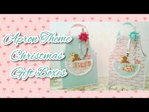Apron Theme Christmas Gift Boxes & More