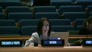 Albulena Prelvukaj's intervention at the HLPF 2015: http://webtv.un.org