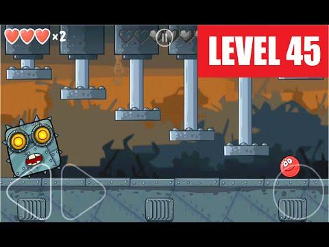 Red Ball 4 level 45 Walkthrough / Playthrough video.
