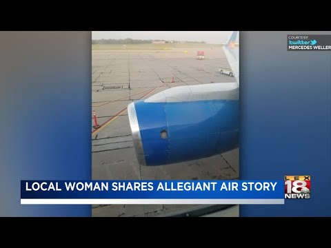Local Woman Shares Allegiant Air Story