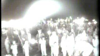 Camera in a guy's head: Guy Fawkes Night 2008