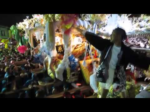 高砂神社例大祭・屋台9台そろい踏み