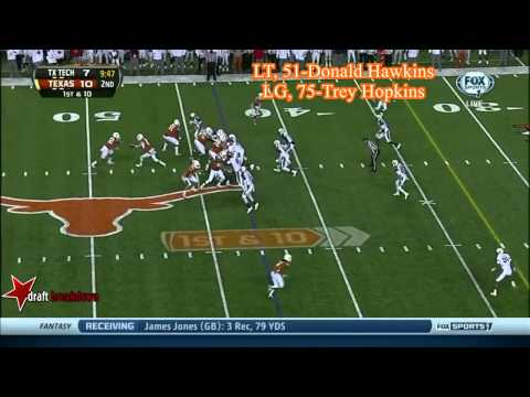 Dominic Espinosa vs Texas Tech 2013 video.