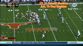 Trey Hopkins vs Texas Tech (2013)