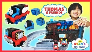 Thomas & Friends Take n Play Engine Maker Thomas The Tank Engine Toy Trains For Kids Ryan ToysReview