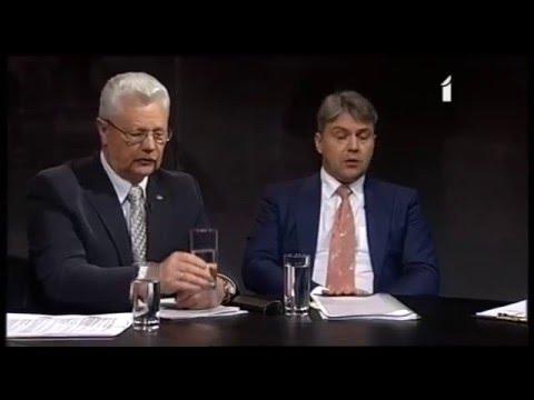 """Veselības ministrs Dr. Guntis Belēvičs LTV1 raidījumā """"Aizliegtais paņēmiens"""": Operācija: """"Aizliegts smēķēt"""" (2.daļa)"""