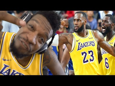 LAKERS ARE WINNING THE FINALS!! WARRIORS vs LAKERS HIGHLIGHTS REACTION