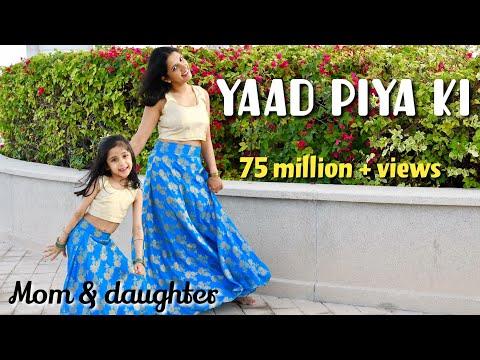 Yaad piya ki aane lagi | Divya Kumar Khosla, Neha Kakkar| mom daughter dance | Nivi & Ishanvi
