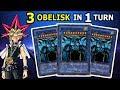 Yu-Gi-Oh! 3 OBELISK THE TORMENTOR IN 1 TURN   OBELISK THE TORMENTOR DECK