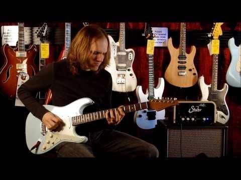 Suhr Corso 5 watt amp with Suhr Classic Antique Guitar