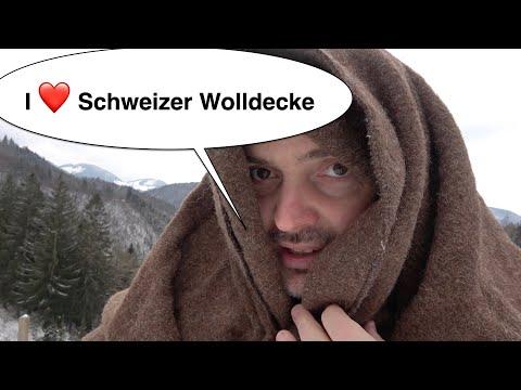 Ich liebe eine Schweizer Wolldecke :-) | Bushcraft Ausrüstung