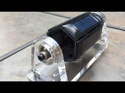Magnetic Levitating Solar Motor  /  [Free Energy?] (видео)