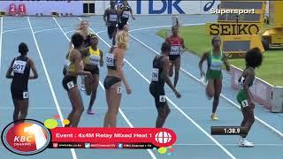 Video Kenya wins 4x4M Relay Mixed Heat 1 MP3, 3GP, MP4, WEBM, AVI, FLV April 2019