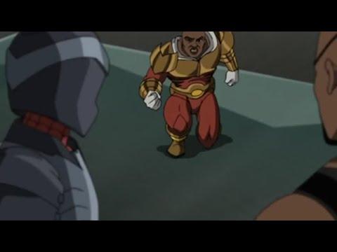 Nick Fury saves Heli-Carrier