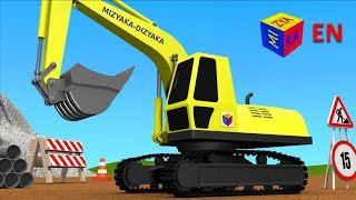 Trucks For Children Kids Construction Game Crawler Excavator