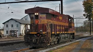 Strasburg (PA) United States  city photos gallery : [HD] The Strasburg Railroad - Autumn Action Featuring #90 & NS #8102