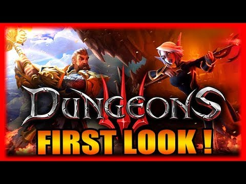 Evil Evilness RTS! Dungeons 3 - Gameplay Impressions Part 1 (видео)
