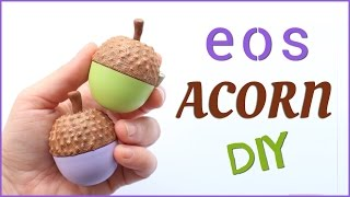 DIY eos Lip Balm - Acorn | 2 Cats & 1 Doll - YouTube