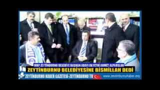 Av Fethi Ahmet Alparslan Zeytinburnu Belediyesine Bismillah Dedi
