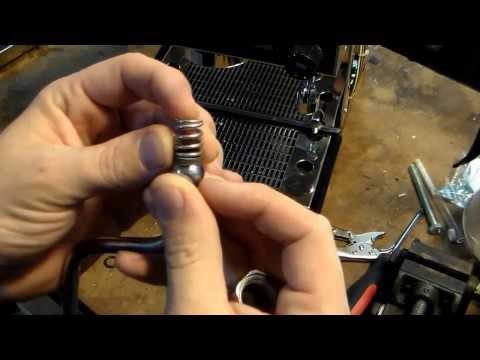 Pasquini Livia 90 Steam Wand Nut Rebuild