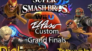 El Paso, Texas Bi-Weekly Super Smash Bros For Wii U: Custom Single Grand Finals!