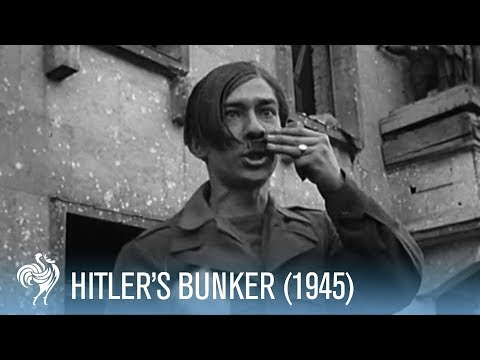 Hitler's Bunker Revealed by the British (1945) | War Archives