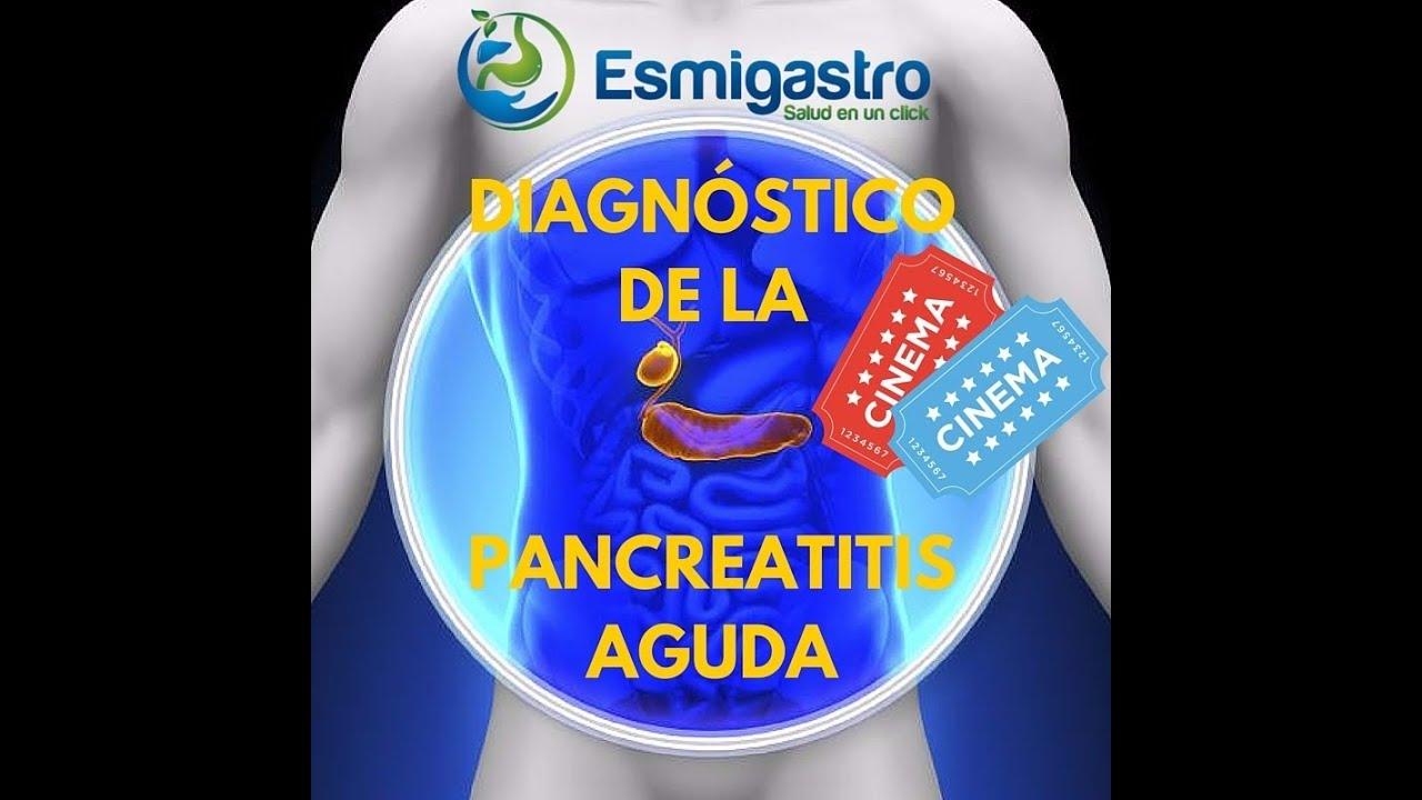 Diagnóstico de la pancreatitis aguda