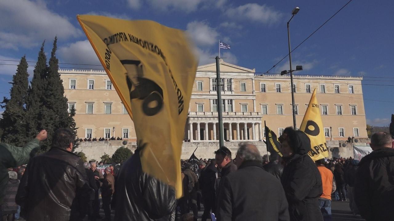 Στο Σύνταγμα έφτασαν οι αγρότες από όλη την Ελλάδα