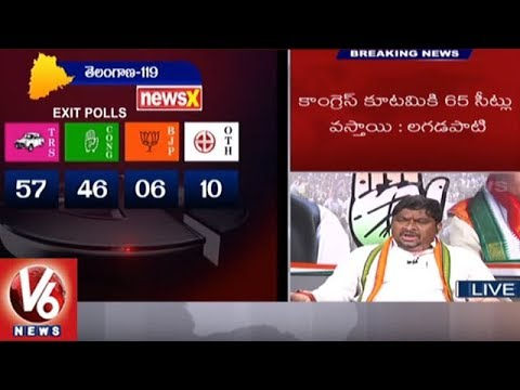 Special Debate On Telangana Exit Polls 2018 | TS Assembly Elections | V6 News