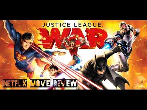 Netflix Movie Review: Justice League: War