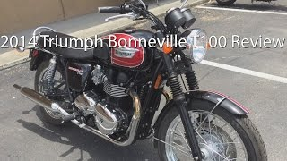 2. 2014 Triumph Bonneville T100 Motorcycle Review