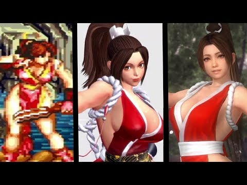Mai Shiranui Evolution (1992-2016)