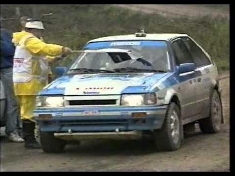Matti Nykänen testaa Ralliautoilua 1989 tekijä: keketonttu