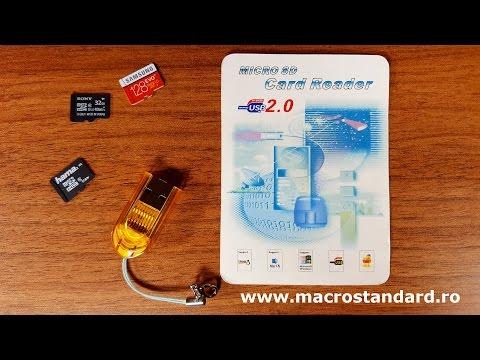 Prezentare cititor de carduri microSD