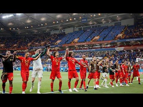 Fußball-WM 2018 Achtelfinale: Belgien setzt sich mi ...