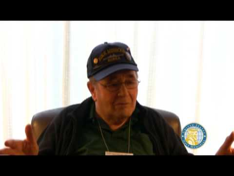 USNM Interview of John Bibeault Part Two Joining the Navy and service on the USS Missouri