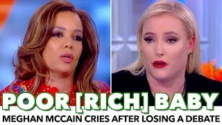 Video Meghan McCain Cries After Losing A Debate On The View MP3, 3GP, MP4, WEBM, AVI, FLV Maret 2019