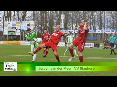 VIDEO | Jeroen van der Meer uit Dronten heeft 't prima naar zijn zin bij Staphorst