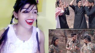 PUBG - INDIA VS PAKISTAN - ELVISH YADAV | Reaction By Gaw Ki Chhori